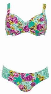 Rosa Faia, sale retrobikini met beugel in mint, 38G cup