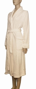 Cyell superzachte badjas sale long ivory luxe fleece maat XL