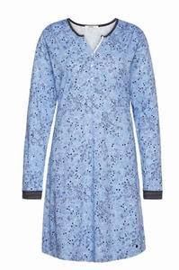 Cyell sale 50% retro nachthemd mouw twinkling twigs blauw