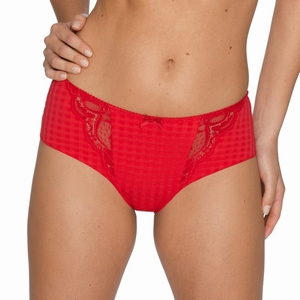 Madison Prima Donna, short / hotpants met kant in scarlet