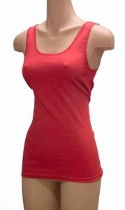 Pompadour dameshemd van biologisch katoen in rood