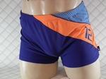 Punto Blanco zwemshort in blauw met oranje