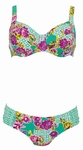 Rosa Faia, sale retrobikini met beugel in mint, 38G 42G cup