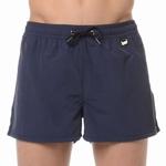 HOM sale beach shorts marina blue wijde zwemshort blue M L