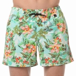 HOM sale beach boxer Hawai multi colour groen M & L