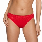 Prima Donna, Couture rioslip met kant in red kiss rood