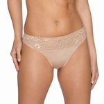 Prima Donna Couture bijpassende string in lichthuid/creme
