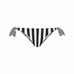 Cyell elegance zwart wit heup bikinislipje pant low
