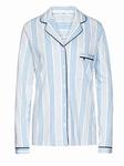 Cyell pyjamajasje lange mouw mixed stripe lavendel