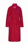 Cyell zachte badjas terry velours scarlet lekker warm
