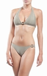 Sedna, Tanaraque voorgevormde halter bikini in taupe snake