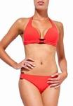 Sedna Riva padded push up bikini in  poppy red Sale xl