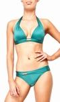 Sedna Siku padded push up bikini green B cup maat  XL 42