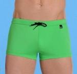 Hom marine chic swim shorts, zwemshort in groen M  L