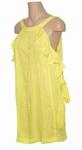Reyberg, Lisa dress roesel strandjurk geel  s  m  l