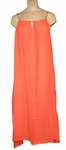 Reyberg sale dress Jackie strandjurk big maxi coral maat 46