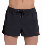 Hom marine beach shorts, wijde zwemshorts in grijs maat  L