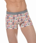Ego by Hom sale, Coffee boxer briefs multi color maat  XL