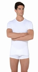 Hom sale Smart Cotton tee shirt crew neck wit