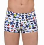 Hom Nemo sale aangesloten swim shorts in wit multi maat XL